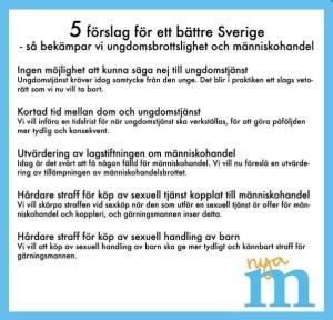 5 förslag