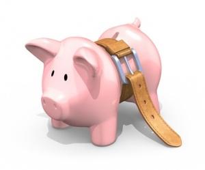 """""""Starving"""" piggy bank"""